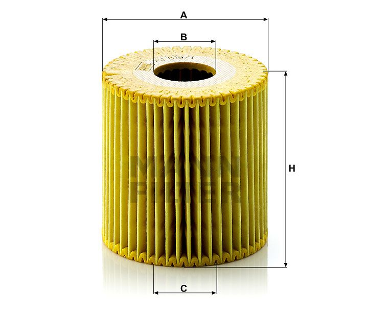 Olejový filtr Mann-Filter HU 819/1x