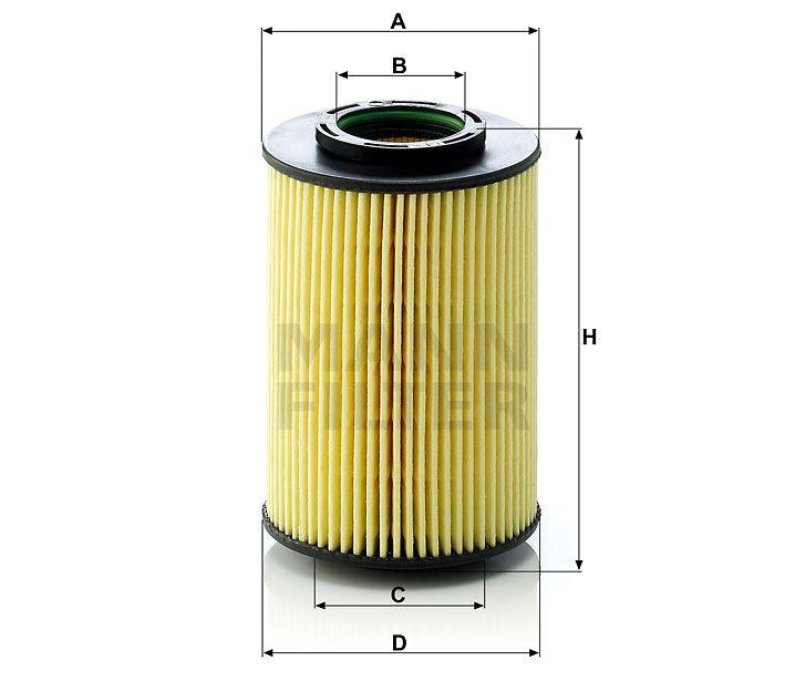 Olejový filtr Mann-Filter HU 822/5x