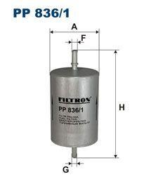 Palivový filtr Filtron PP 836/1