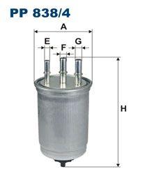 Palivový filtr Filtron PP 838/4