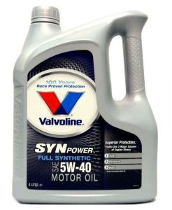Valvoline Synpower 5W-40 5L