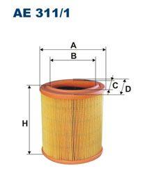 Vzduchový filtr Filtron AE 311/1