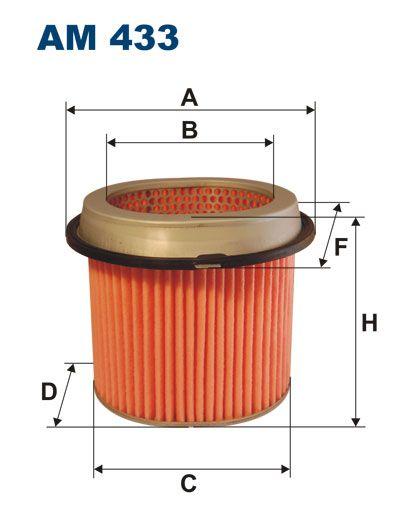 Vzduchový filtr Filtron AM 433