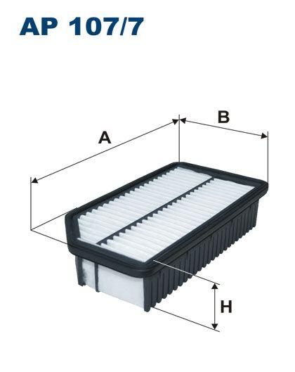 Vzduchový filtr Filtron AP 107/7