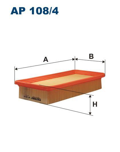 Vzduchový filtr Filtron AP 108/4