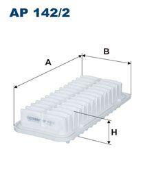 Vzduchový filtr Filtron AP 142/2