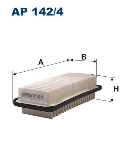 Vzduchový filtr Filtron AP 142/4