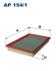 Vzduchový filtr Filtron AP 154/1