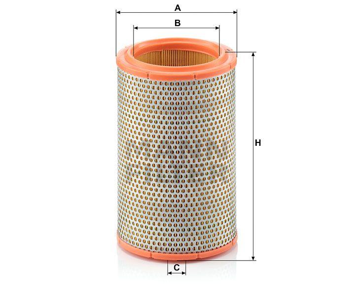 Vzduchový filtr Mann-Filter C 1387