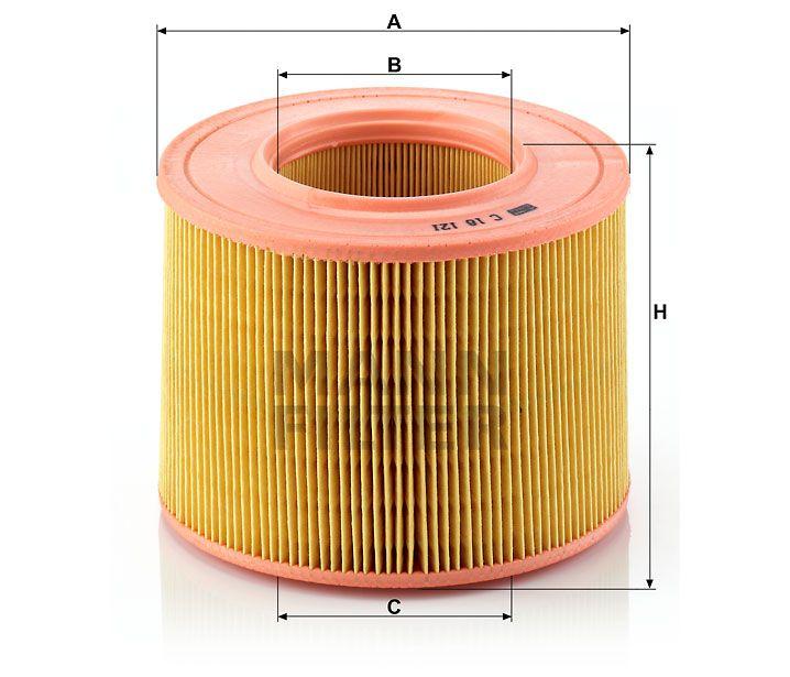 Vzduchový filtr Mann-Filter C 18 121