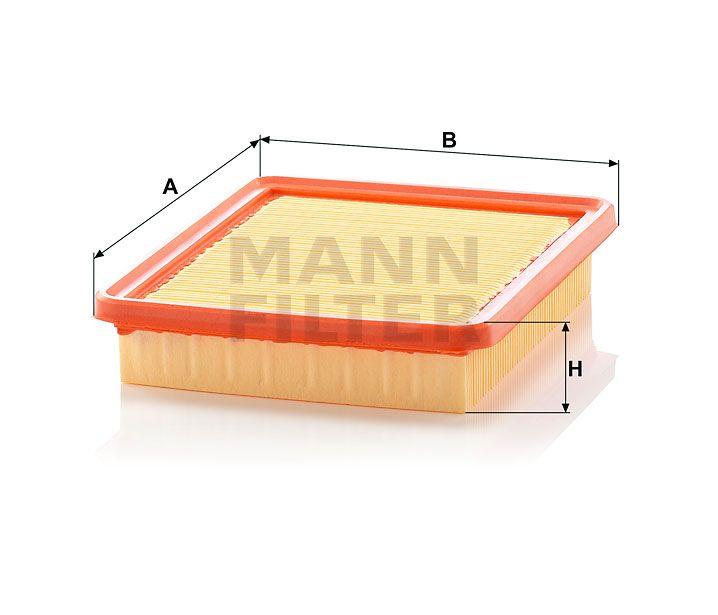 Vzduchový filtr Mann-Filter C 2150