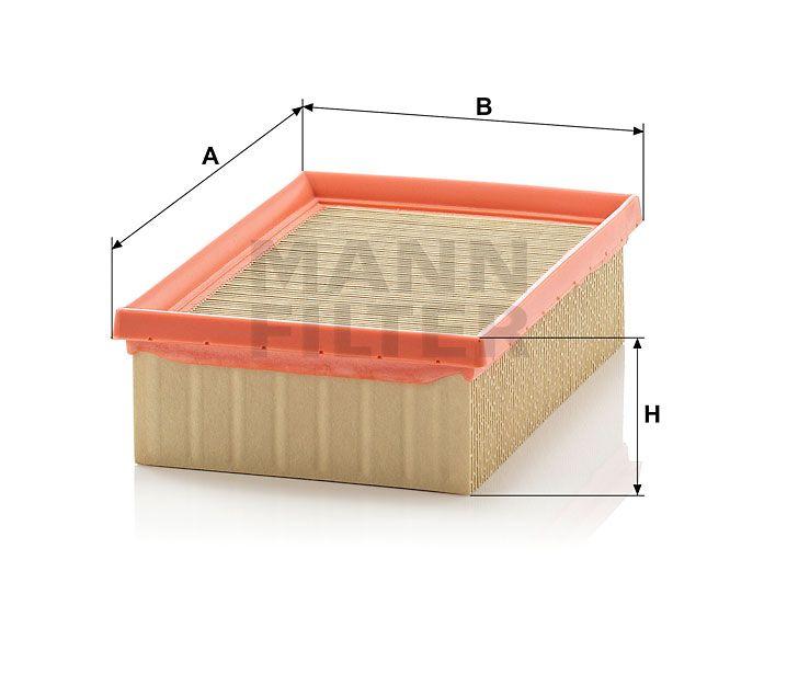 Vzduchový filtr mann-Filter C 2282
