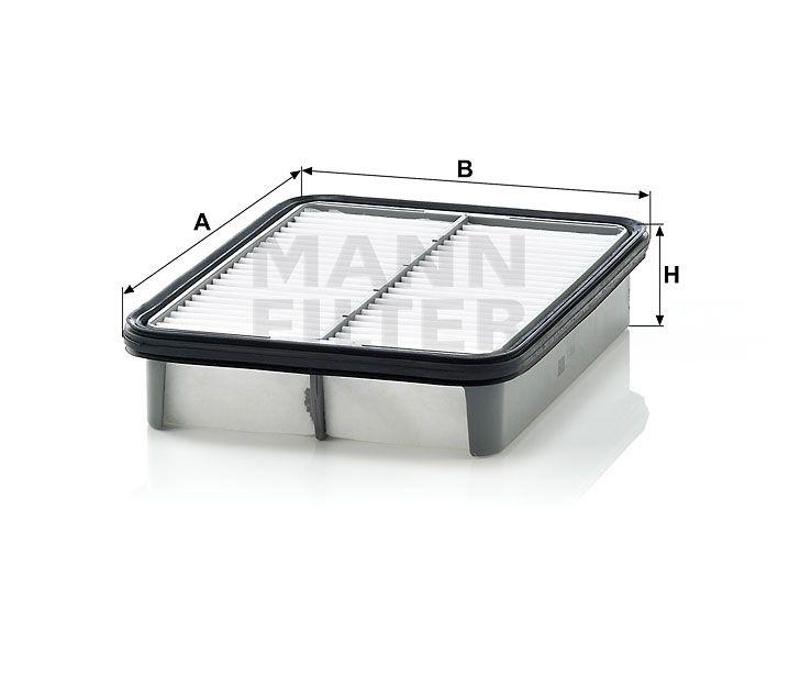 Vzduchový filtr Mann-Filter C 2326