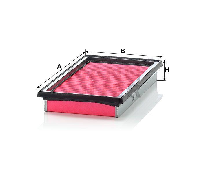 Vzduchový filtr Mann-Filter C 2420