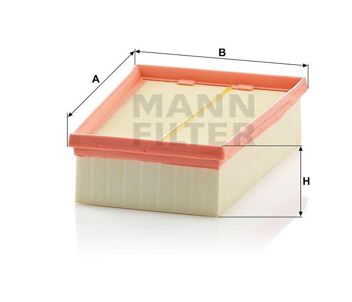 Vzduchový filtr Mann-Filter C 2433/2