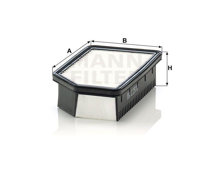 Vzduchový filtr Mann Filter C 25 013 Mann-Filter