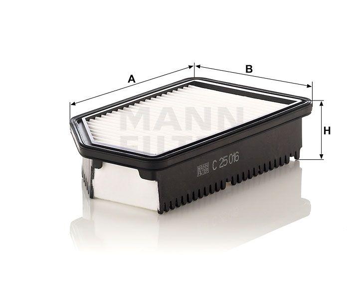 Vzduchový filtr Mann Filter C 25 016 Mann-Filter