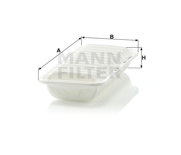 Vzduchový filtr Mann-Filter C 2513