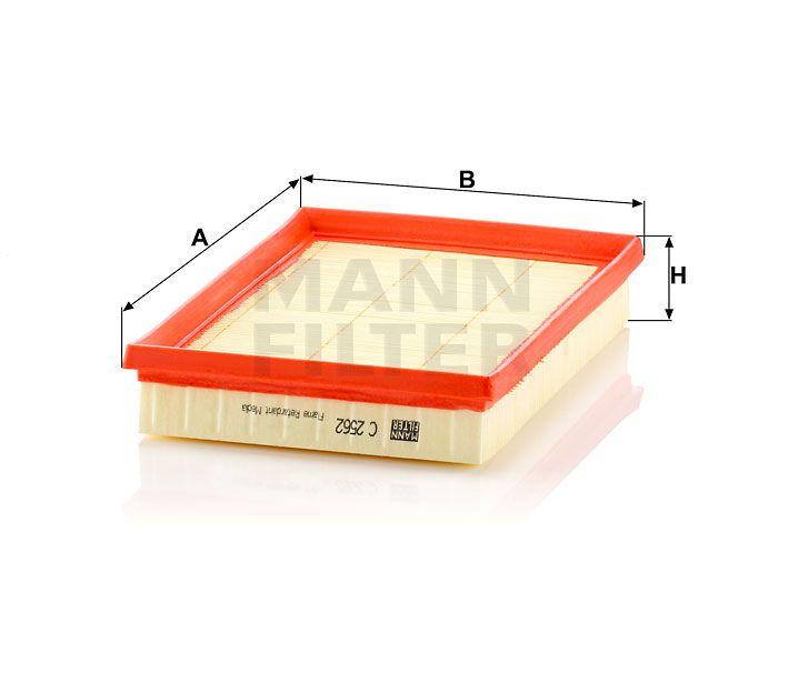 Vzduchový filtr Mann-Filter C 2562