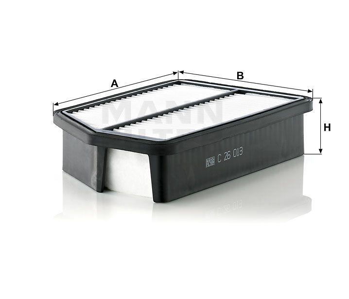 Vzduchový filtr Mann-Filter C 26 013