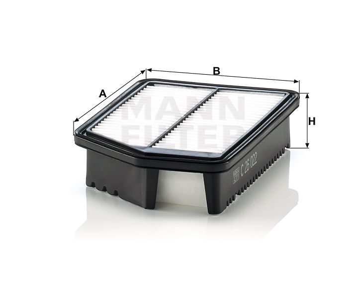 Vzduchový filtr Mann filter C 26 022 Mann-Filter