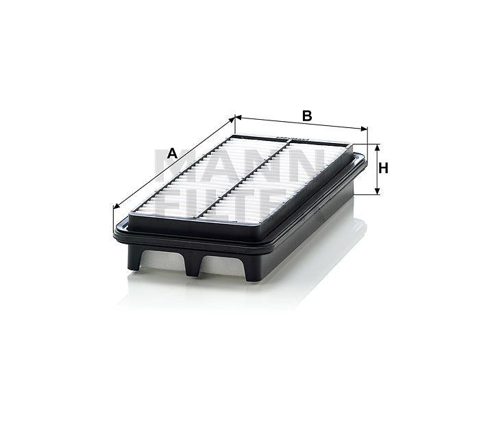 Vzduchový filtr Mann Filter C 2617 Mann-Filter