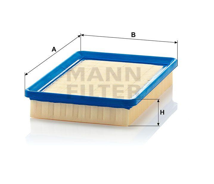 Vzduchový filtr Mann-Filter C 2676