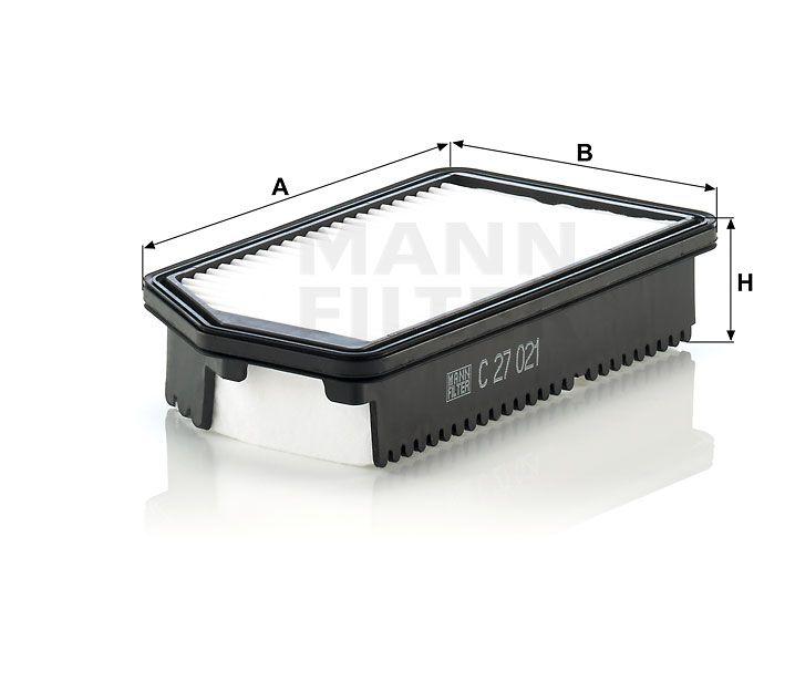Vzduchový filtr Mann filter C 27 021 Mann-Filter