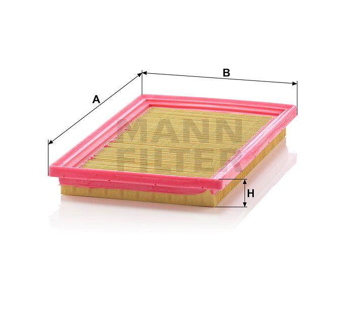 Vzduchový filtr Mann-Filter C 2742