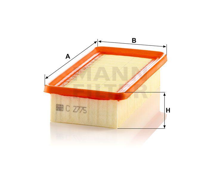 Vzduchový filtr Mann Filter C 2775 Mann-Filter