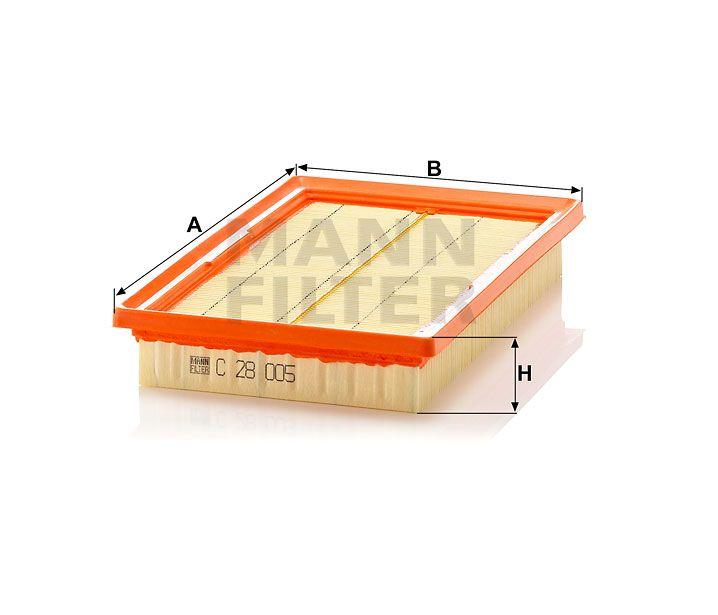Vzduchový filtr Mann-Filter C 28 005