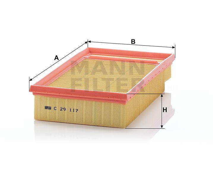 Vzduchový filtr Mann-Filter C 29 117