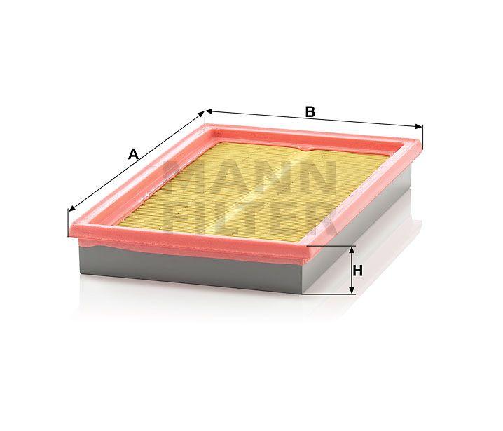Vzduchový filtr Mann-Filter C 2964