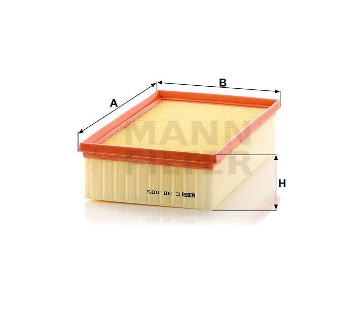 Vzduchový filtr Mann-Filter C 30 005