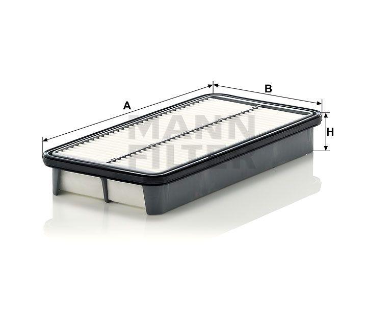 Vzduchový filtr Mann-Filter C 31 101/1