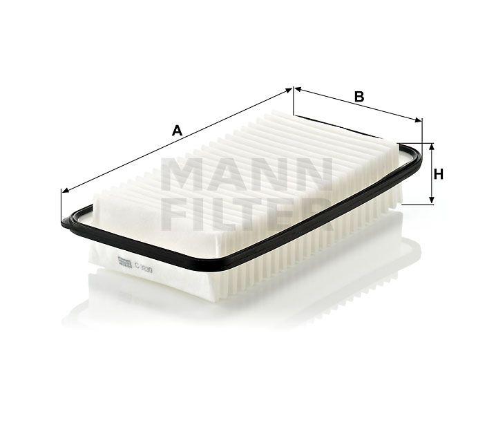 Vzduchový filtr Mann-Filter C 3230