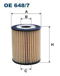 Olejový filtr Filtron OE 648/7