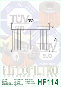 HifloFiltro HF 114