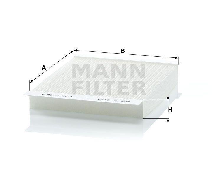 Kabinový filtr Mann-Filter CU 2143