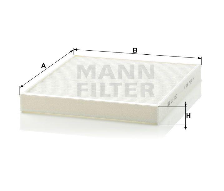 Kabinový filtr Mann-Filter CU 2757