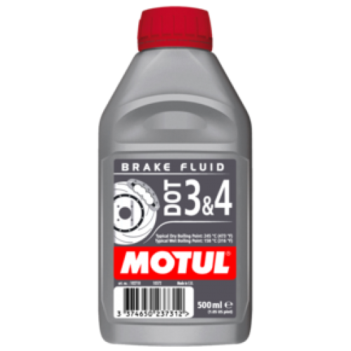 Motul DOT 3,4 Brake Fluid 0,5L