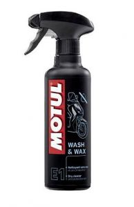 Motul E1 Wash and Wax Spray 400ml