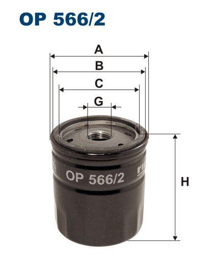 Olejový filtr Filtron OP 566/2