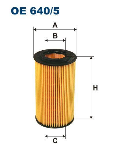 Olejový filtr Filtron OE 640/5