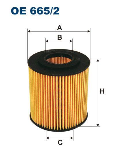 Olejový filtr Filtron OE 665/2