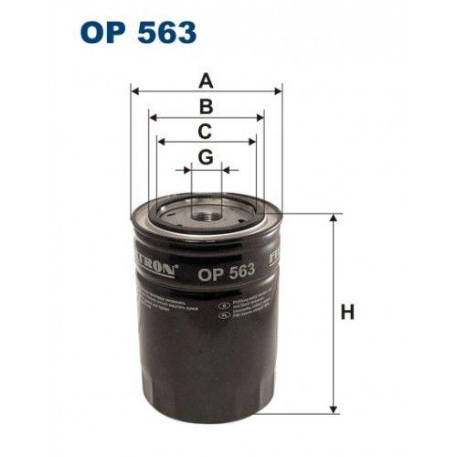 Olejový filtr Filtron OP 563