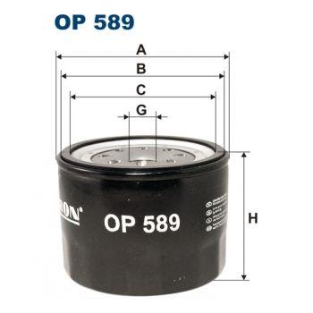 Olejový filtr Filtron OP 589