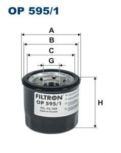 Olejový filtr Filtron OP 595/1