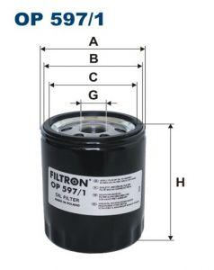 Olejový filtr Filtron OP 597/1