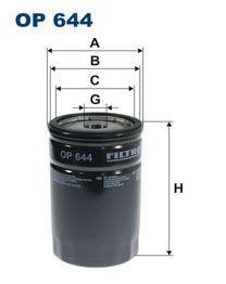 Olejový filtr Filtron OP 644